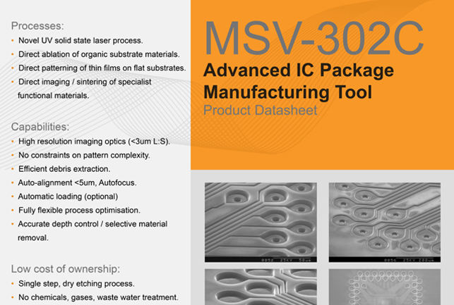 MSV 302C Product Datasheet