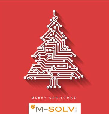 Happy Holidays from M-Solv Ltd!